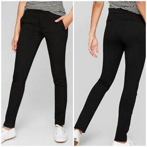 Athleta Ponte Skinny Pants Dress Pant Yoga Black